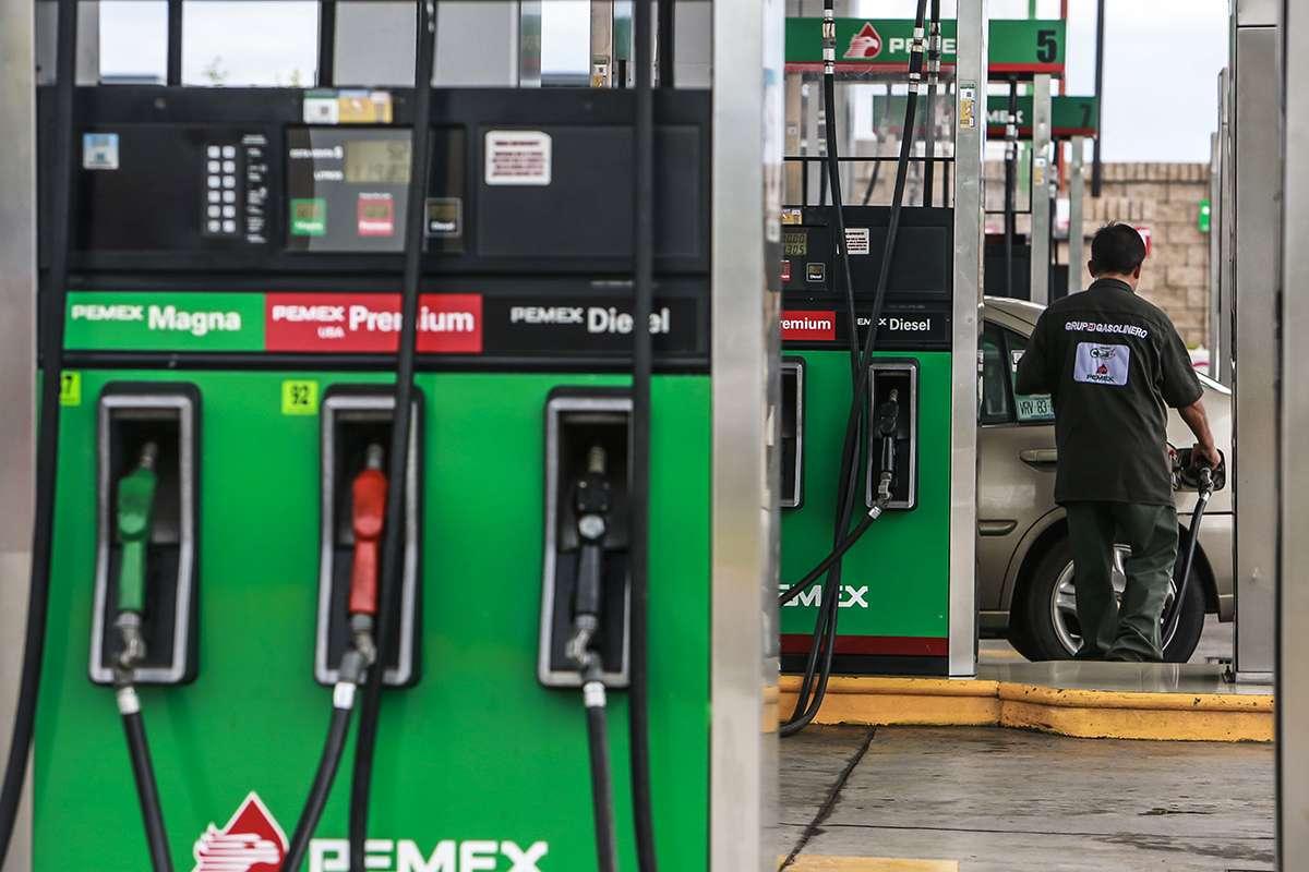 La gasolina 92 con el aceite