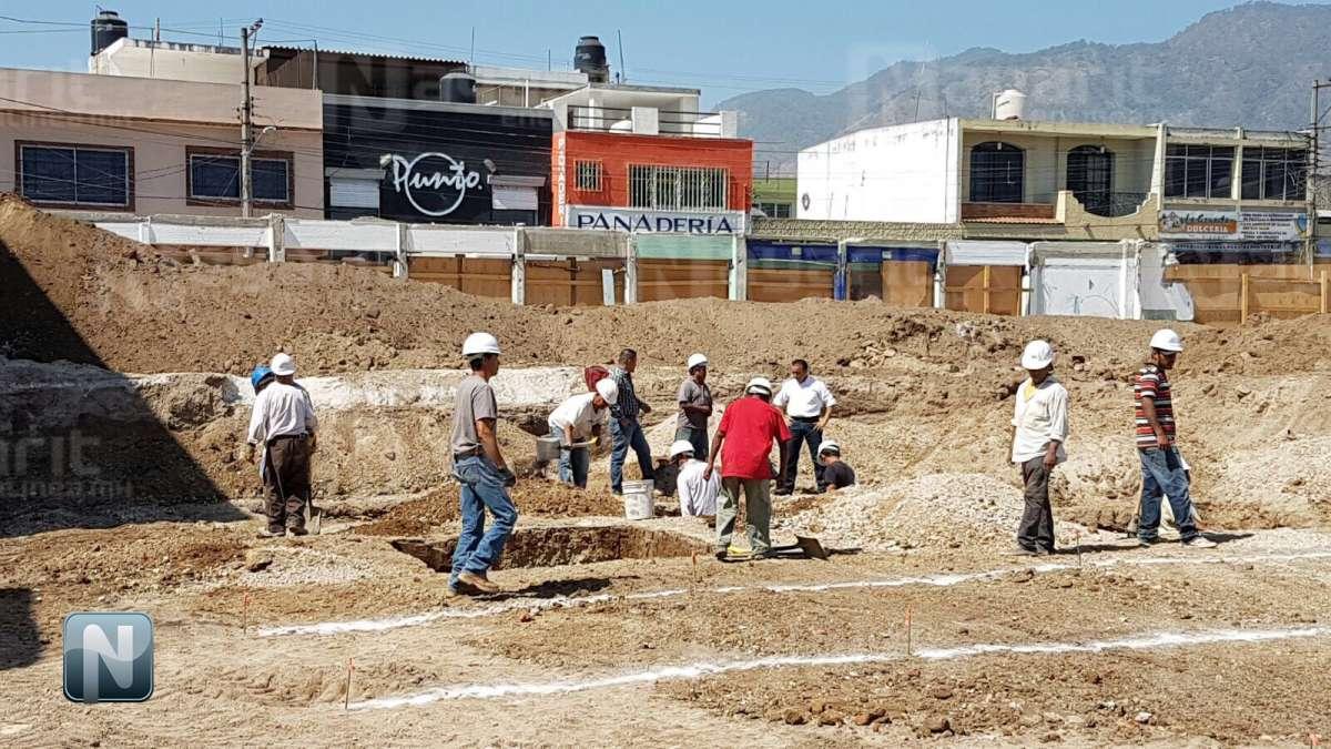 Hallan cañón de la Revolución Mexicana en obra del Mercado Morelos, Tepic.  Canon2