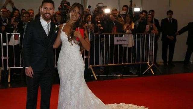 Matrimonio Messi : Festeja a todo lujo lionel messi boda con antonella