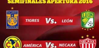 Listas las Semifinales Apertura 2016 Liga MX