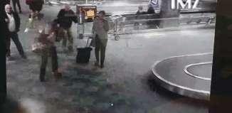 El momento del tiroteo en el aeropuerto de Fort Lauderdale