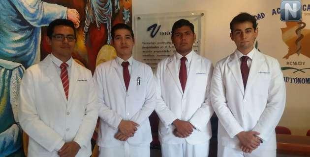 Obtiene Medicina de la UAN cuarto lugar nacional en competencia realizada en la UNAM
