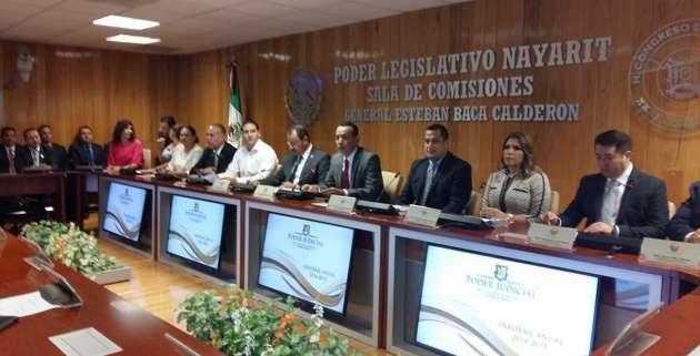 Más de 30 mil nuevos asuntos se ingresaron en 43 juzgados de Nayarit: Pedro Enríquez Soto