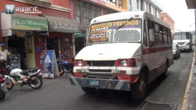En muy malas condiciones se encuentran las unidades del transporte público