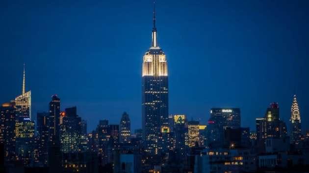 Asombroso: captan impacto de rayo contra el Empire State