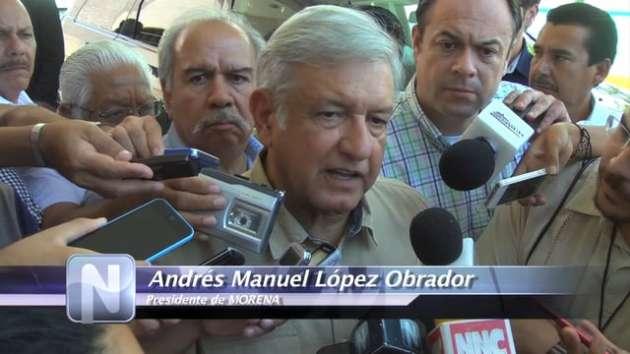 AMLO visita Tepic; nombra a Navarro Promotor de la Soberanía en Nayarit