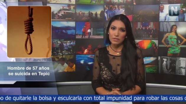 Hombre de 57 años se suicida en Tepic