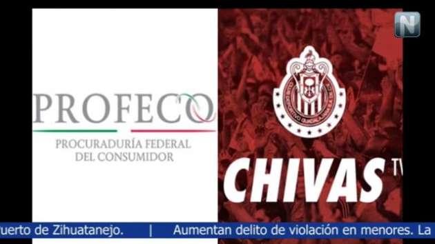 Profeco multa a Chivas TV por 5 millones de pesos por fallas en transmisión
