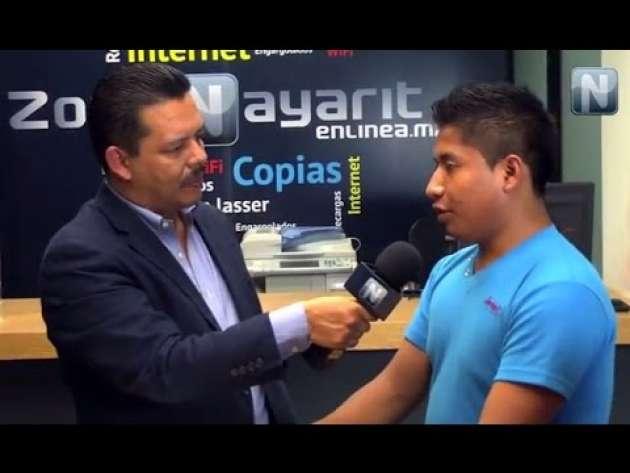 Me siento seguro en Nayarit dice normalista de Ayotzinapa